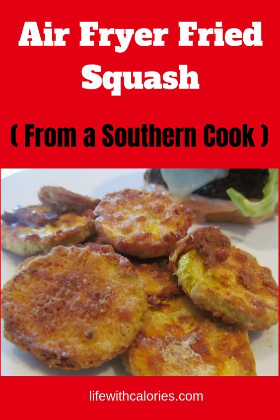Air Fryer Fried Squash