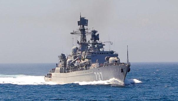 فرقاطة روسية مزودة بصواريخ كاليبر تتوجه نحو المتوسط