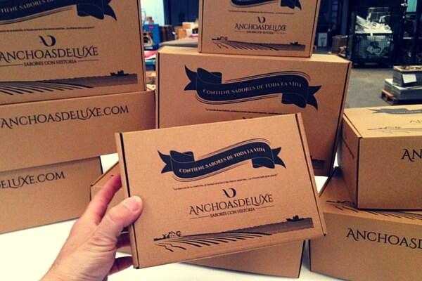embalaje para productos gourmet