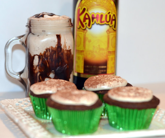 cupcakes and mudslide