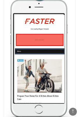 Faster Blogger Template | Template Fast Loading Dan Responsive Dari Templatesyard