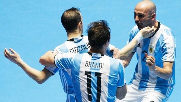 Argentina conquista título inédito na Copa do Mundo de Futsal