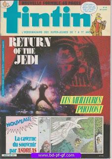 Tintin-numéro 45, année 38, 1983, Andréas