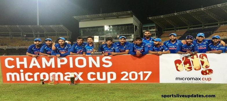 India vs Sri Lanka 5th ODI
