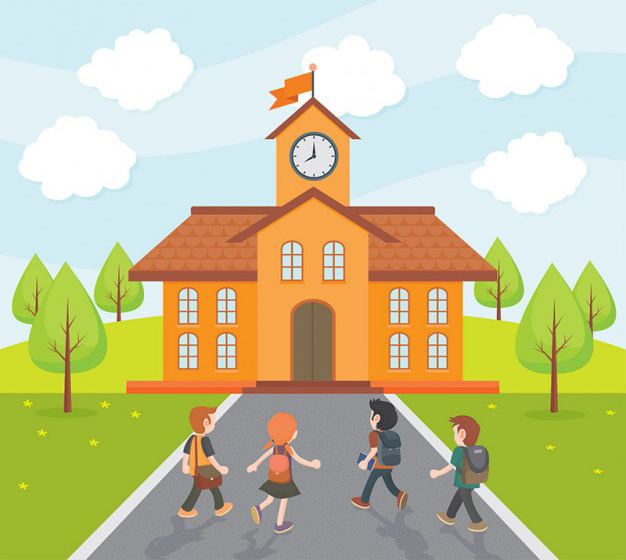 School and Kids