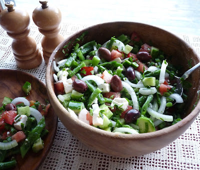 Green Bean Greek Salad