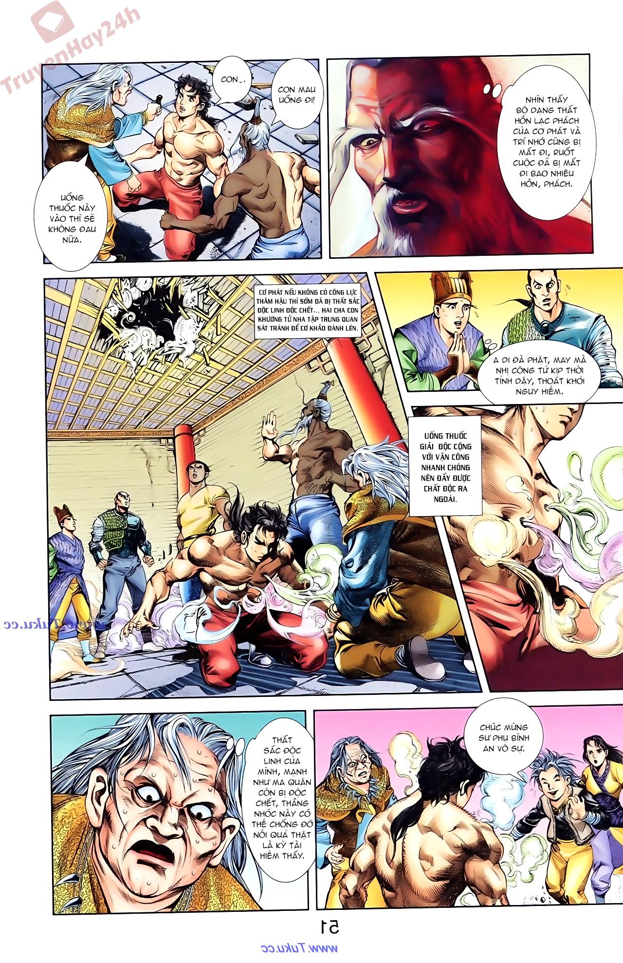 Cơ Phát Khai Chu Bản chapter 85 trang 5
