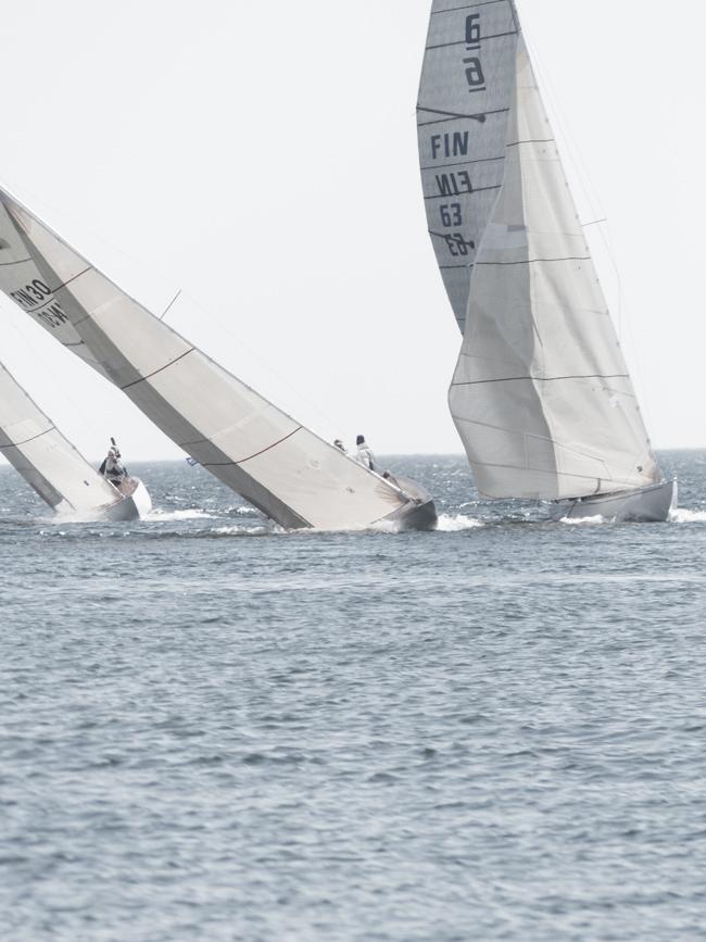 Hangon regatta, purjevene, hanko, kesä, meri, 6 vene, vanha purjevene