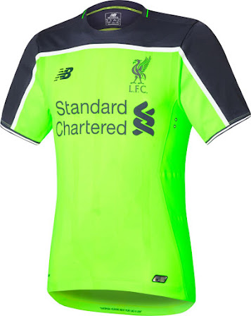 online store 33cbe 70ff4 Liverpool 16-17 Third Kit Released - Footy Headlines