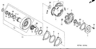 Gambar kopling motor lengkap