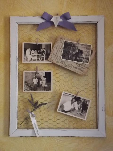 Memories cornice shabby chic ma petite maison for Cornici per quadri shabby chic