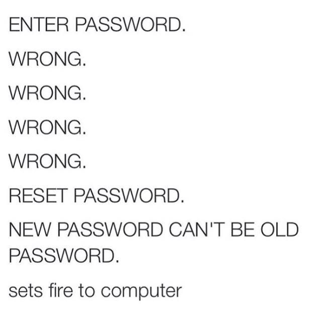 Funny Enter Password Transcript Picture