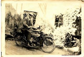 1919 Douglas with sidecar
