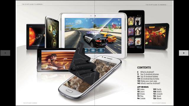 Revista Stuff Guide to Android Ingles 300 Mejores Aplicaciones