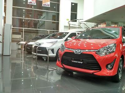 Harga Toyota Calya Baru Lampung