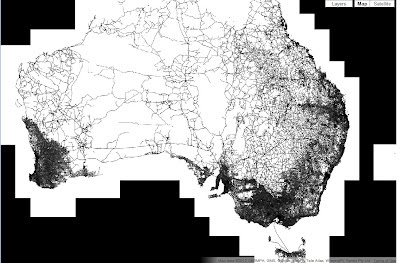 Google Lat Long: Where the roads aren't - and why it matters