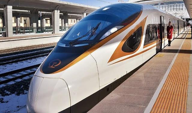 تستعد الصين لاطلاق قطار اسرع من الطائرة !!