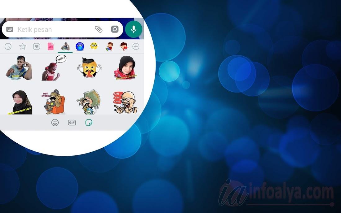 Cara Mudah membuat Stiker di Whatsapp