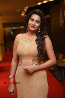 Actress Himaja Stills in Golden Spicy Long Dress at SIIMA Short Film Awards 2017 .COM 0233.JPG