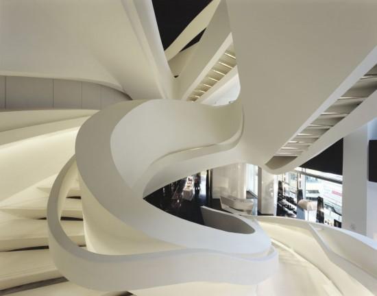 gambar desain tangga super unik