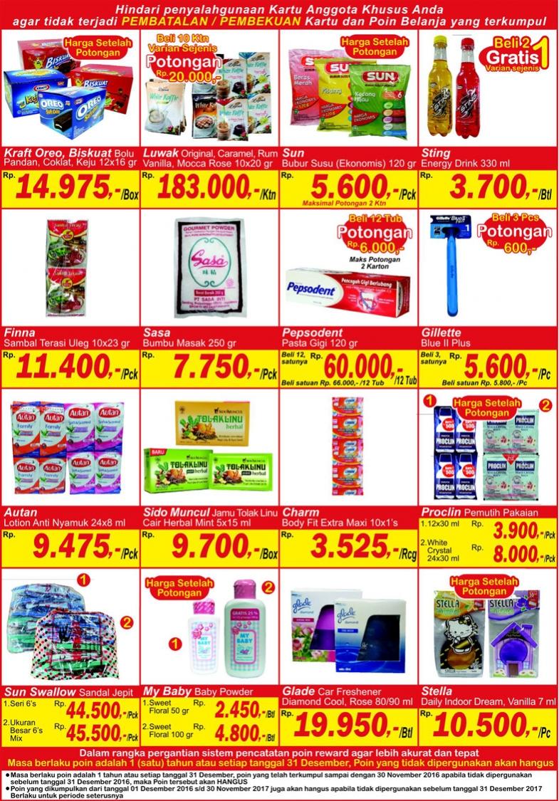 Katalog Harga Promo Indogrosir 23 – 29 Desember 2016