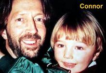 Eric Clapton y su hijo Connor