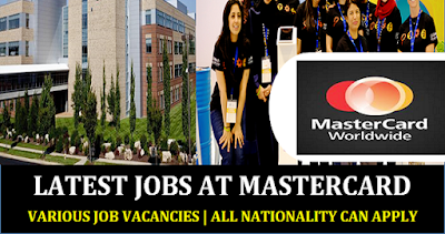 New Job Vacancies at Mastercard
