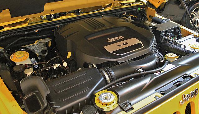 Jeep Wrangler Unlimited Sport Engine