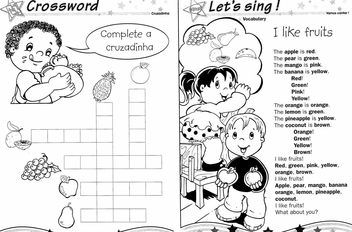 Atividades De Ingles Exercicios Ens Fundamental I E Ii