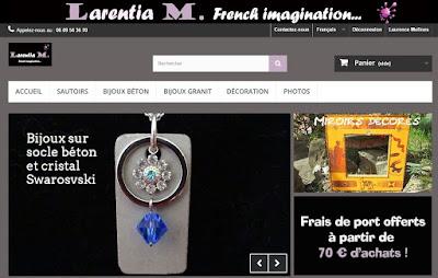 Boutique en ligne Larentia M.