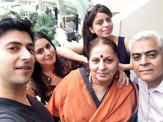 Shraddha Arya Family Husband Parents children's Marriage Photos