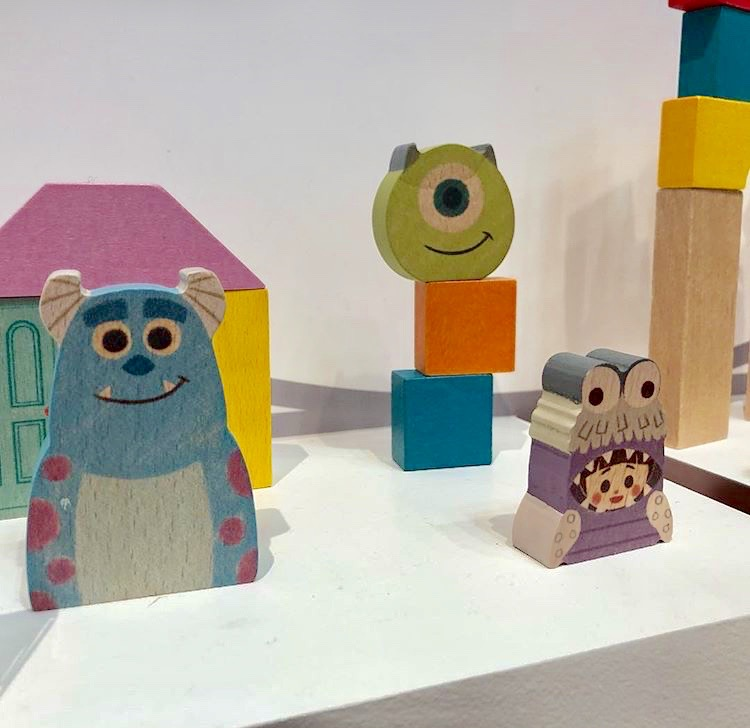 pixar monsters inc baby blocks