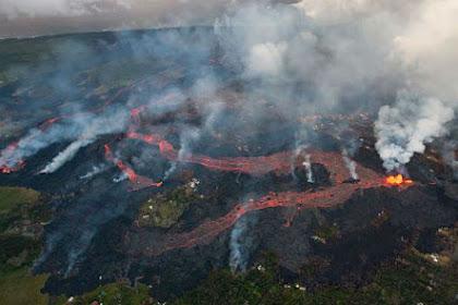 Kilauea Meletus, Hawaii Kini Terlihat seperti Neraka