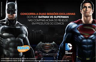 Participar promoção Pbkids 2016 Batman vs Superman