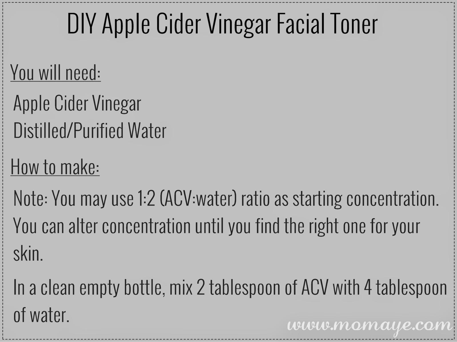Apple cider vinegar as natural facial toner solutioingenieria Image collections