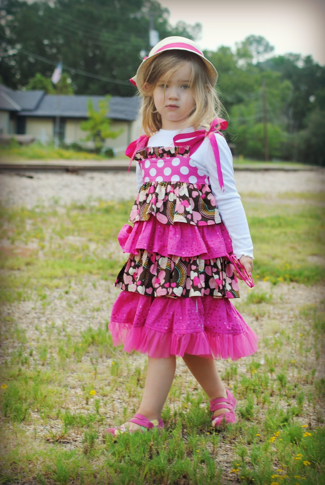 Sewing Patterns for Girls Dresses and Skirts: Bella ...