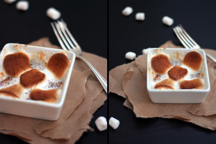 Kochkarussell: Marshmallows mit Birne