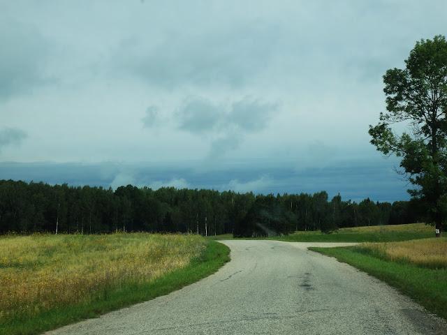 Droga w Estonii (sierpień 2016).
