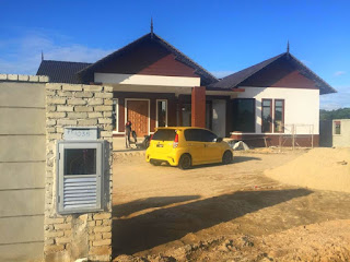 Bina rumah atas tanah sendiri Kota Bharu