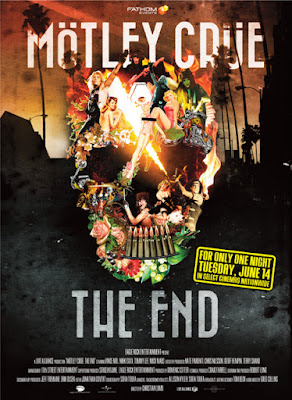 Mötley Crüe  - The End - cinema 2016