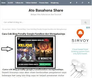 Cara Pasang Iklan Google Adsense di Bawah Judul Postingan/Artikel