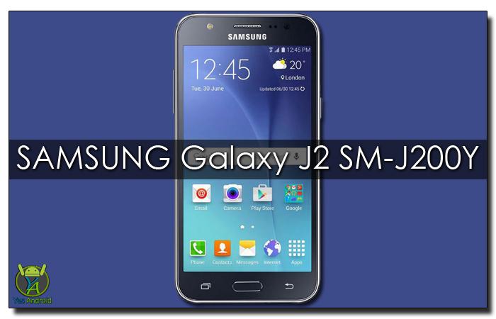 J200YDOU1AQB1 | Samsung Galaxy J2 SM-J200Y