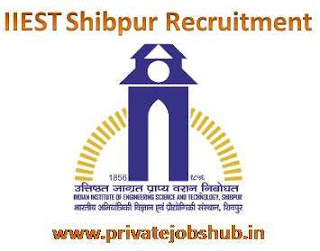 IIEST Shibpur Recruitment