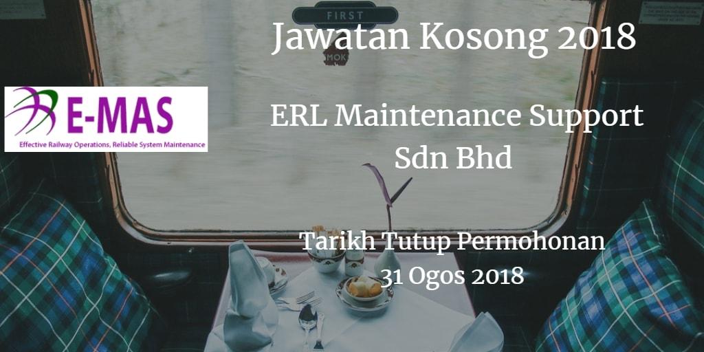 Jawatan Kosong E-MAS 31 Ogos 2018