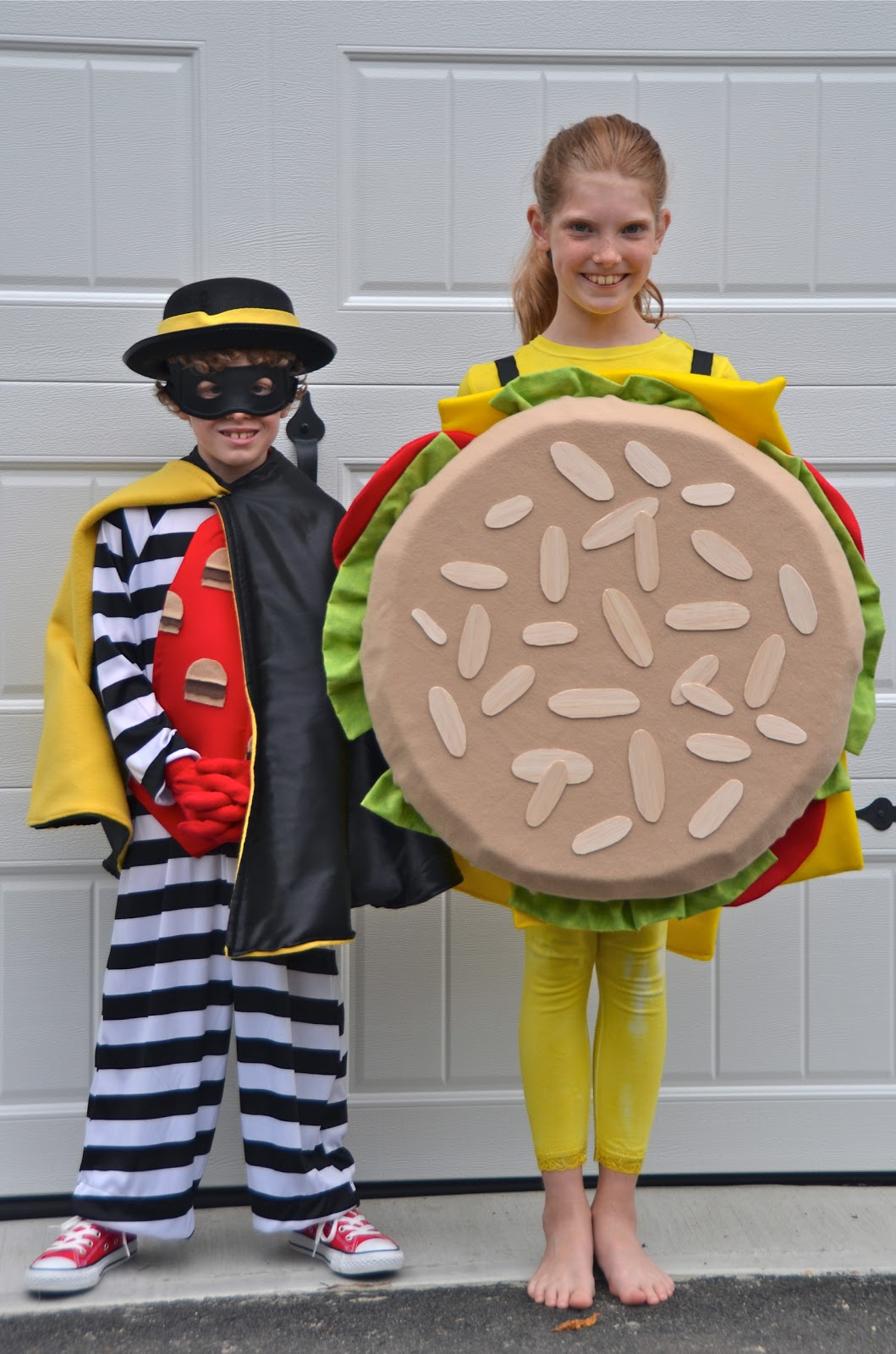 halloween costumes 2012 a hamburger and the hamburglar