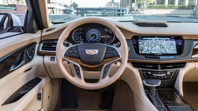 2016 Cadillac CT6 AWD Interior