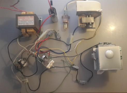 eSalvage  Microwave Oven Teka MW170