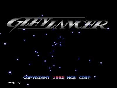 【MD】星際槍騎兵(Gley.Lancer)原版+無敵+追蹤導彈Hakc版!
