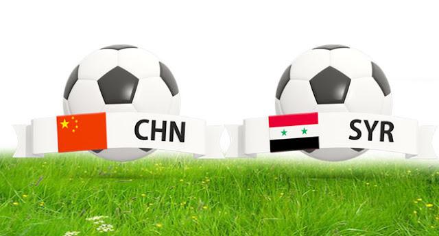 بالفيديو: منتخب سورية لكرة القدم يخسر أمام نظيره الصيني وديا.