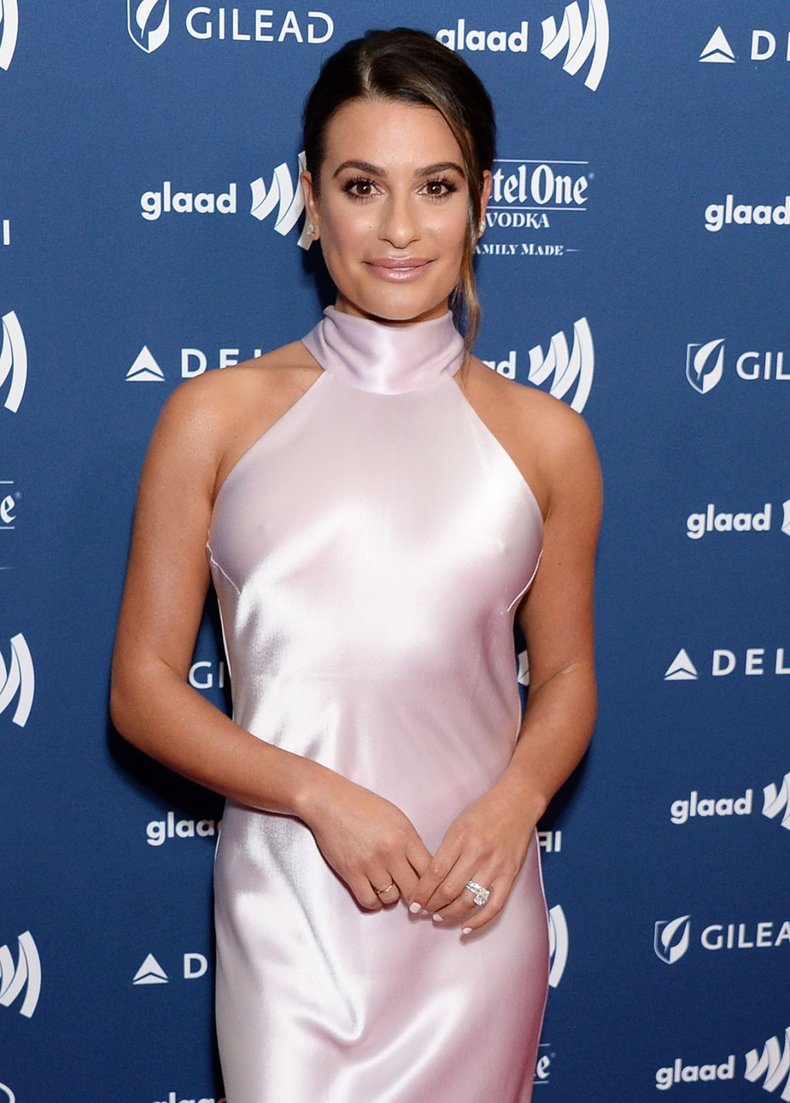 Lea Michele – 30th Annual GLAAD Media Awards Los Angeles at The Beverly Hilton Hotel in Beverly Hills